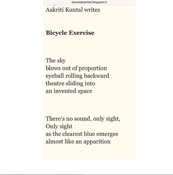 Aakriti Kuntal Bicycle Exercise